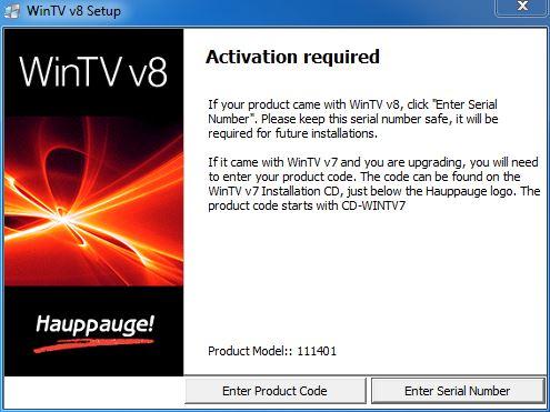 Hauppauge UK Support | WinTV v8