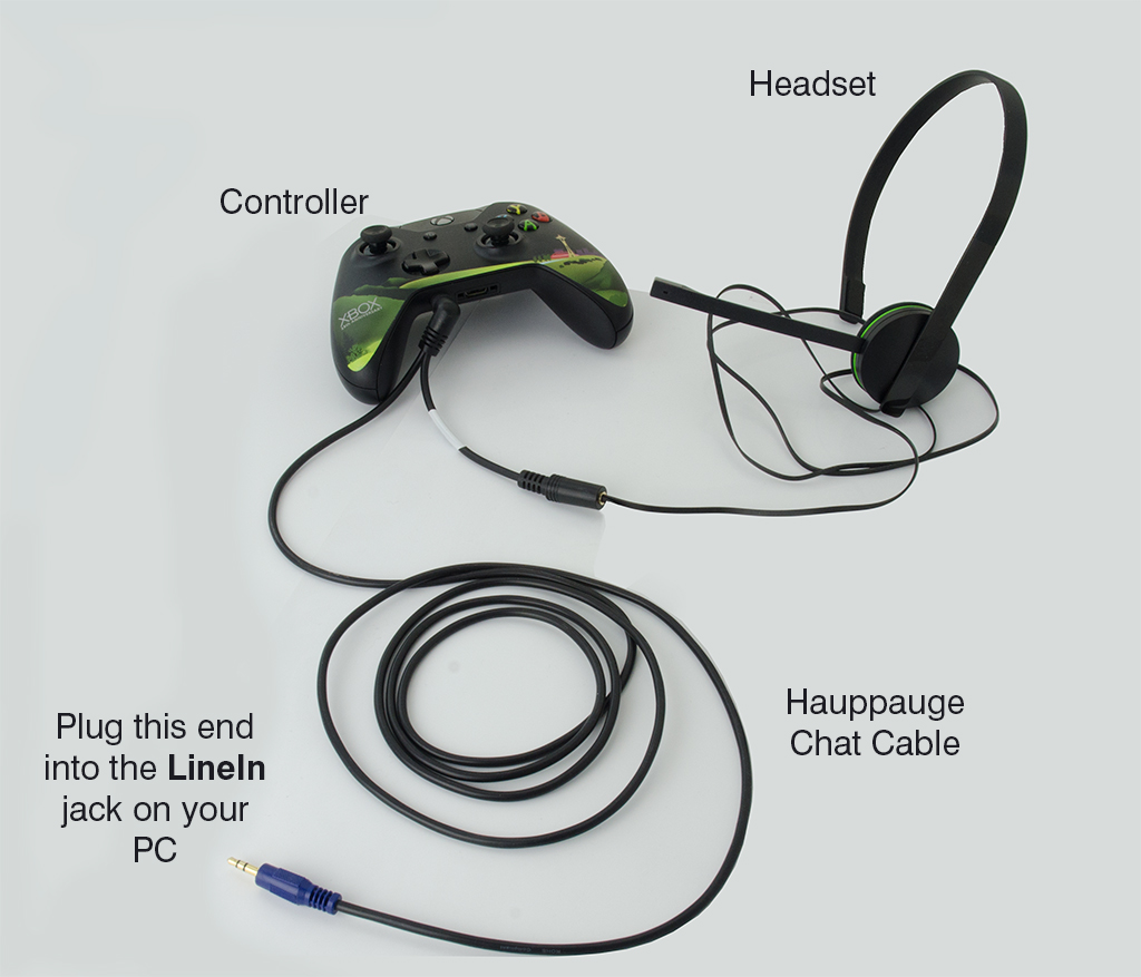 Hauppauge Chat Cable Audio Wiring Connection Diagrams
